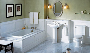 Residential Plumbing Services - OC California - New Bathroom
