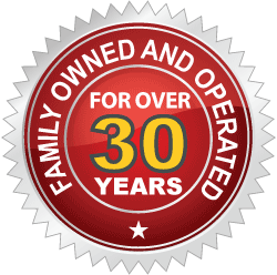 Quality Guarantee Badge - Shafer Plumbing is family owned and operated for over 30 years!